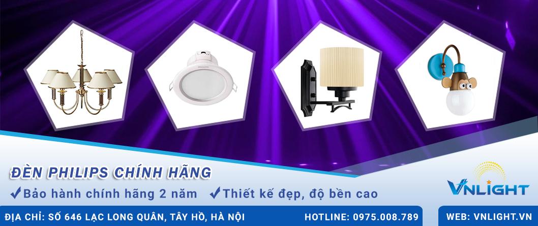 Đèn philips chính hãng Vnlight.vn
