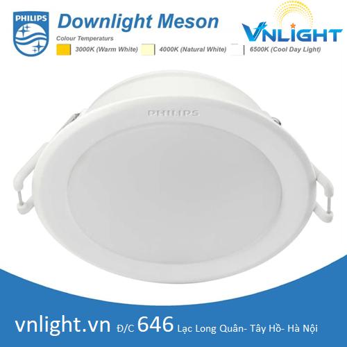 Đèn led âm trần 59447 5w Philips
