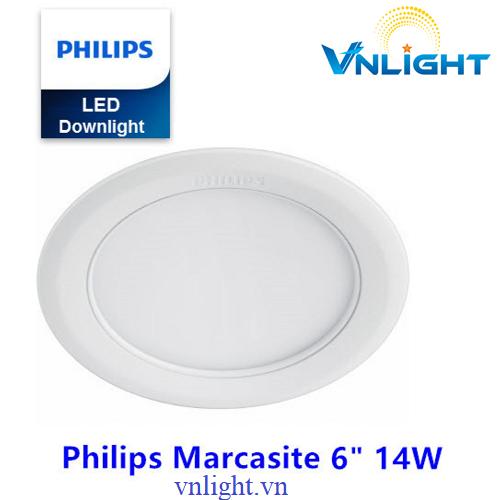 Đèn led âm trần 14W 59523 Philips