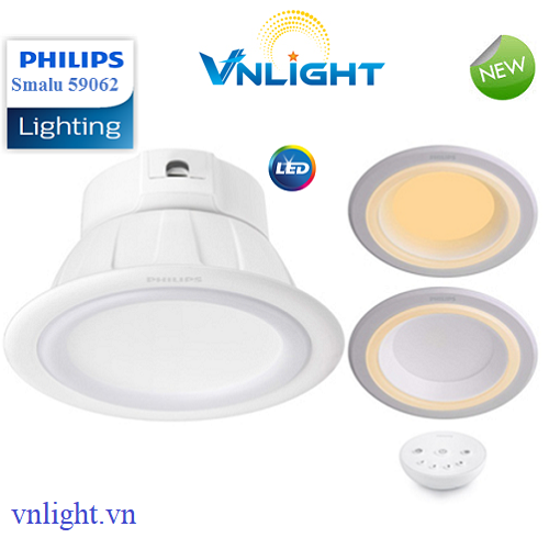 Đèn led âm trần 59062 Smalu Philips
