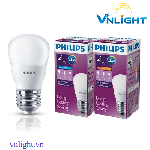 LED BUBL CAO CẤP 4W Philips