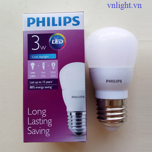 LED BUBL CAO CẤP 3W Philips