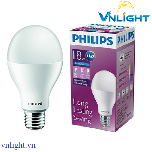 LED BUBL CAO CẤP 18W Philips