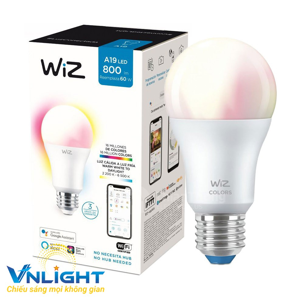 Bóng đèn led WiZ Tunable White + Color