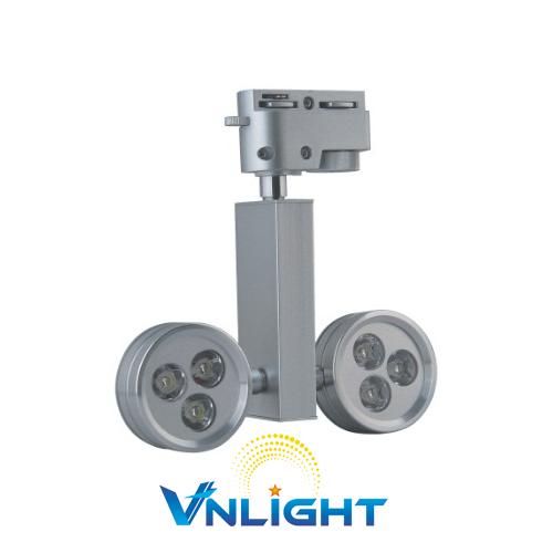 Đèn LED chiếu điểm 2x3W DUHAL DIA804