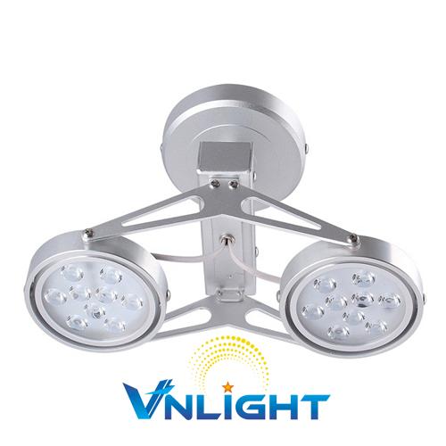 Đèn LED chiếu điểm gắn trần 2x9W DUHAL AIC801