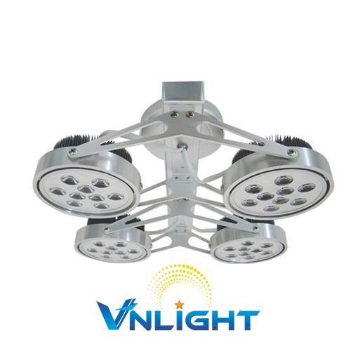 Đèn LED chiếu điểm gắn trần 4x9W DUHAL AIC802