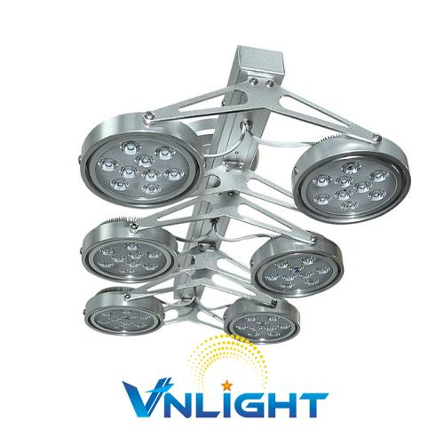 Đèn LED chiếu điểm gắn trần 6x9W DUHAL AIC803