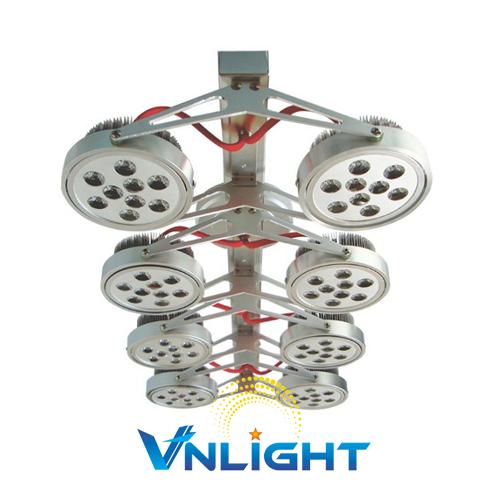 Đèn LED chiếu điểm gắn trần 8x9W DUHAL AIC804