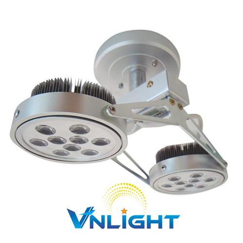 Đèn LED chiếu điểm gắn trần 2x12W DUHAL AIC805