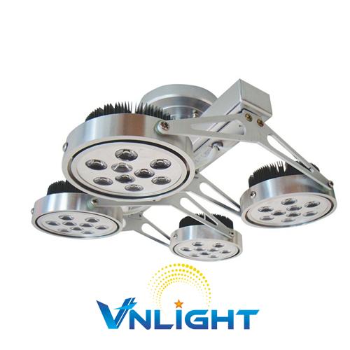 Đèn LED chiếu điểm gắn trần 4x12W DUHAL AIC806