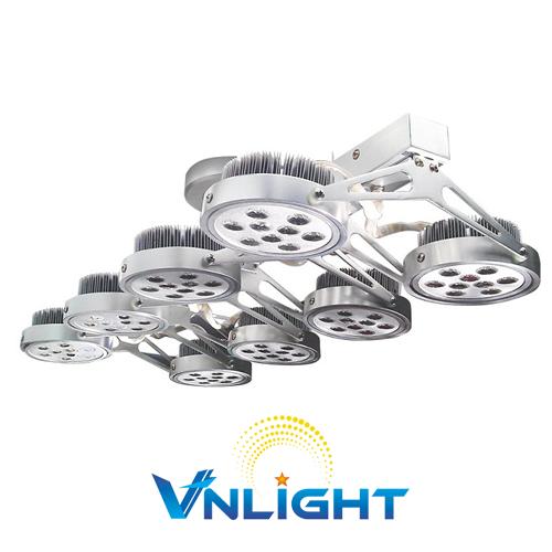 Đèn LED chiếu điểm gắn trần 8x12W DUHAL AIC808