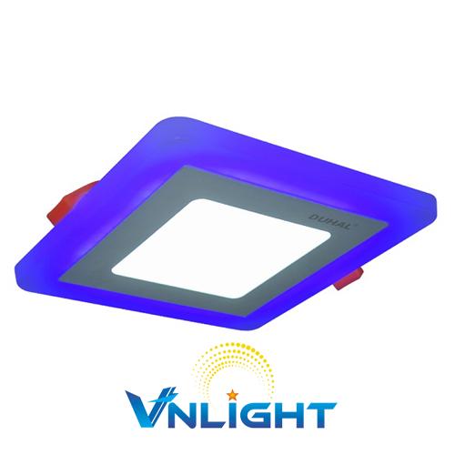Đèn LED Panel màu 12W DUHAL DGV512B