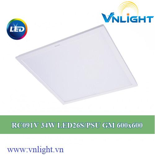 Đèn led panel RC091V- 34W Philips
